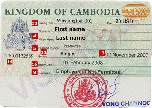 Cambodia Visa Application Requirements Residents Of Egypt Visahq