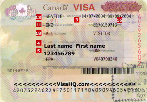 Canada Visa Application Requirements Residents Of Egypt Visahq
