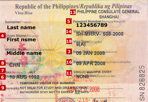 Philippines Visa Application Requirements Residents Of Egypt Visahq